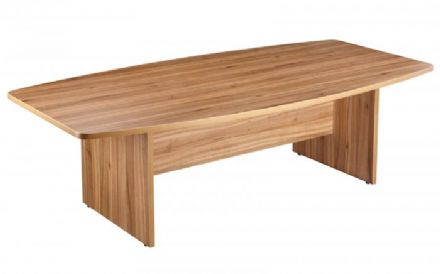 2400mm American Walnut Boardroom Table
